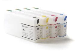 Refill instructions for refillable Epson T7011 - T7014, T7021