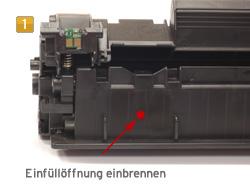 Refill Instructions for HP LaserJetPro P 1100, 1101, 1102