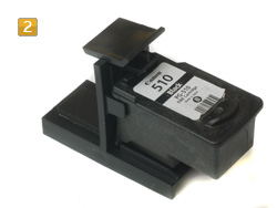 refill instruction for using adapter to exhaust for canon pg 510 512 cl 511 513. Black Bedroom Furniture Sets. Home Design Ideas