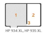 HP934 XL HP935 XL Innere Struktur
