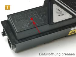 Refill Instructions for Kyocera TK-130, FS-1028, FS-1128, FS