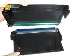 Samsung CLP-K 600 - Toner Chip tauschen