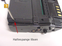 Samsung MLD-1630 A/ELS Anleitung zum Nachfüllen