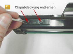 Samsung MLD-1630 A/ELS Tonerchip austauschen
