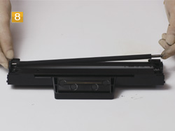Samsung MLT-D 1042 S/ELS Gummiwalze entfernen