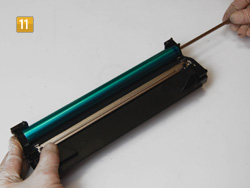 Samsung MLT-D 1042 S/ELS Achse einführten