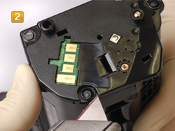 Samsung MLT-D 1042 S/ELS Schweißpunkte lösen