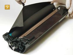 Samsung MLT-D 1042 S/ELS Schutzpapier entfernen
