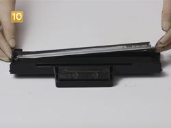 Samsung MLT-D 1042 S/ELS Doctor Blade entfernen