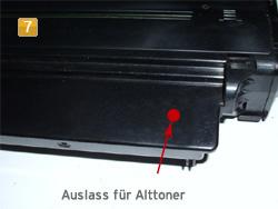 Samsung MLT-D 1052 - Alttoner entfernen