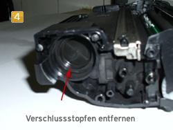Samsung MLT-D 1052 - Verschlussstopfen