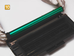 Samsung ML-2250 D5, D8 ELS - alte Bildtrommel herausnehmen