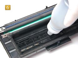 Samsung ML-2250 D5, D8 ELS - Toner nachfüllen