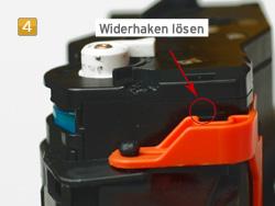 Samsung MLT-D 116 - Bildtrommel wechseln
