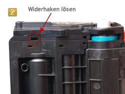Samsung MLT-D 116 - Bildtrommel tauschen