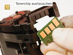 Samsung CLT-K 504 S/ELS - Toner Chip austauschen