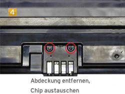 Samsung MLD-2850 A/ELS - Toner Chip austauschen