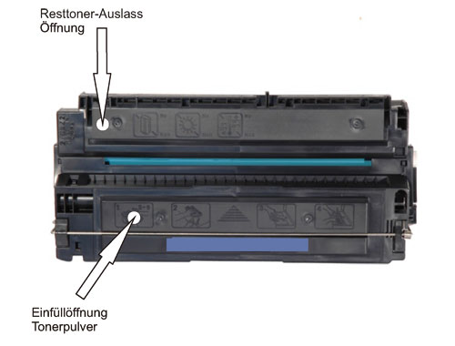Apple Personal LaserWriter 300 Toner nachfüllen