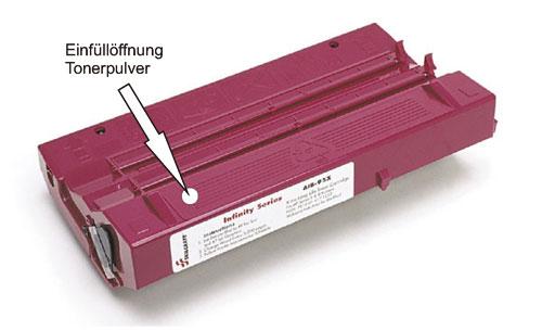 Apple LaserWriter II NTX Toner nachfüllen