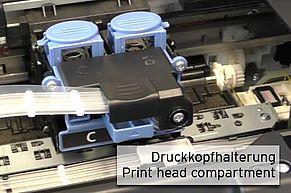 Print head holder