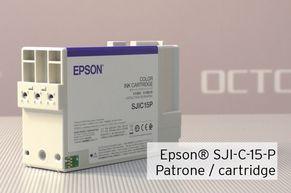 [Translate to Englisch:] Tintenpatrone Epson SJIC15P für TM-C3400