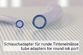 tube adapters suitable for round Canon ink ports
