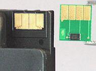 Ersatzchip HP 950, HP 951 Vergleich Originalchip