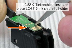 Chip Brother LC-3219 tauschen