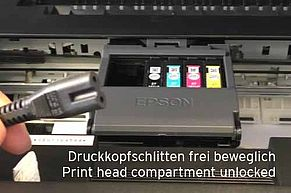 Epson print head cleaning nozzle cleaning