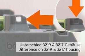Differenza tra LC-3219 e LC-3217 sulla custodia