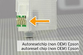 autoreset chip on Epson 29 Fill In cartridge