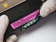 Samsung CLT-K 406 S/ELS - Toner Chip tauschen
