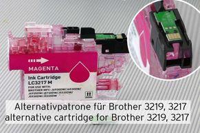 Cartuccia compatibile sostituisce Brother LC3219 o LC3217