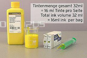 [Translate to Englisch:] Nachfülltintenmenge für Epson TM-C3500 Tintenpatrone