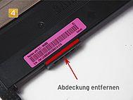 Samsung CLT-K 406 S/ELS - Toner Nachfüllanleitung