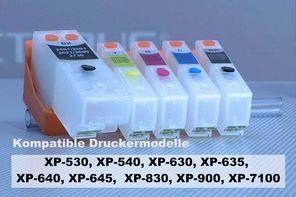 Satz befüllbare Tintenpatronen für Epson 33