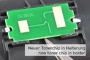 Neuer, alternativer Tonerchip auf TK1160