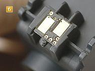 Inserire il nuovo chip Kodak No. 10 new chip