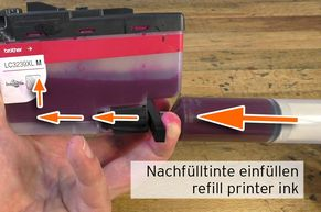 50ml refill ink for LC-3239 Magenta