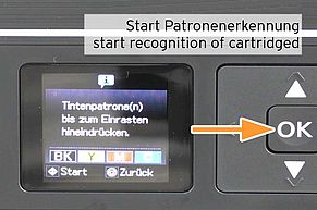 cartridge recognition of Epson 29 on display