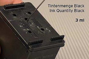 Quantità di inchiostro Nero 3 ml