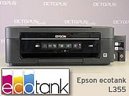 Epson ecotank L355 Drucker mit Außentanks