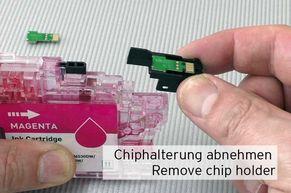 Porta trucioli per chip di inchiostro LC-3217