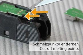 Distacco dei punti di rottura del chip LC3217