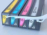 Linee di alimentazione inchiostro collegate HP 970