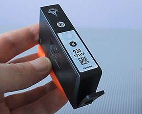 HP 934 Cartuccia d'inchiostro vista frontale