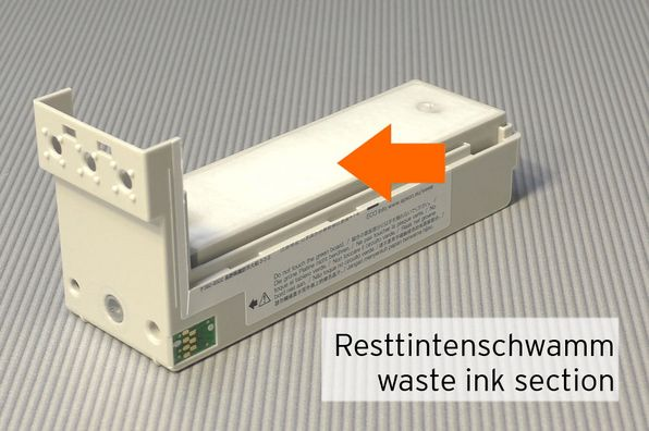 [Translate to Englisch:] Resttintenschwamm Epson TM-C3400