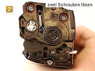 Samsung CLT-K 504 S/ELS - zwei Schrauben lösen