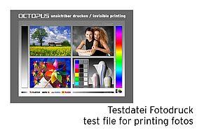 [Translate to Englisch:] Testdatei für unsichtbaren Fotodruck
