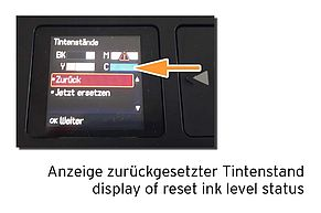 Epson 29 Ink level reset 'Ink Full'